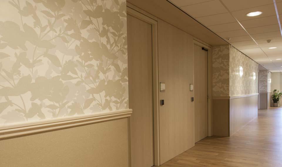 Behang baarn schmidt koelewijn uitgebreid assortiment van behang - Behang ingang gang ...