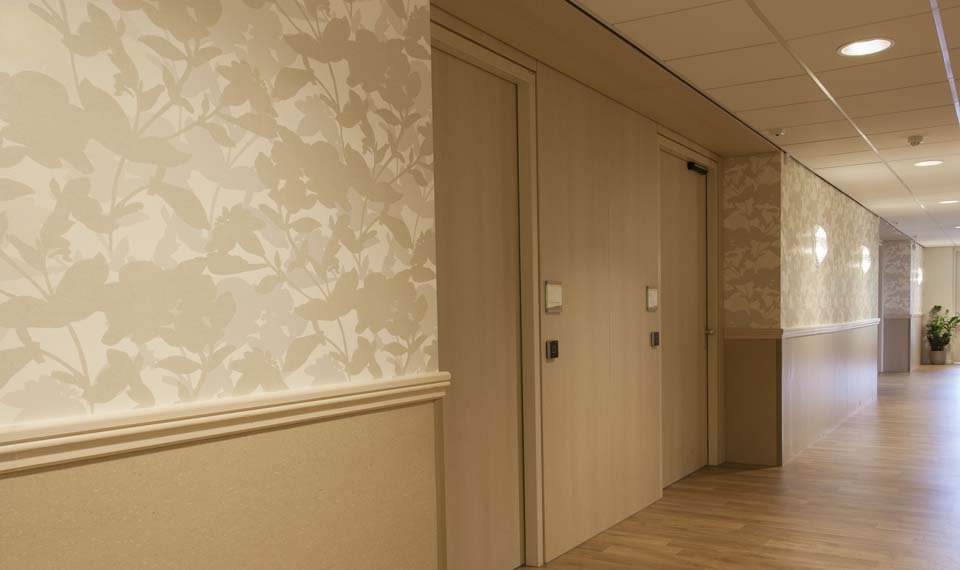 Behang ingang gang behang ingang gang custom foto behang d grote