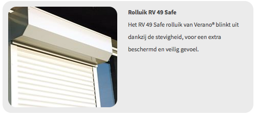 Verano Rolluik RV49 Safe